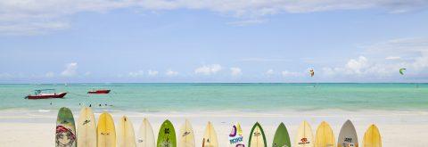 Surfing in Zanzibar...