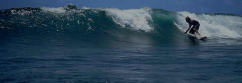 Surf uncrowded Waves